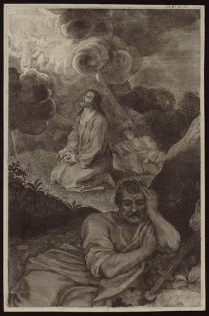 Jésus au Jardin des Oliviers