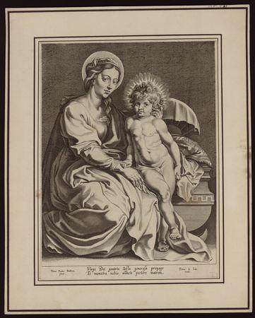 [Vierge et Jésus enfant]
