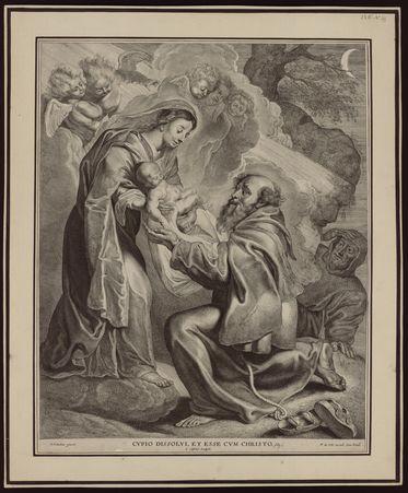 [La Vierge présentant le Christ enfant à saint François d'Assise]