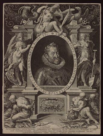 Portrait de Rudolphe II