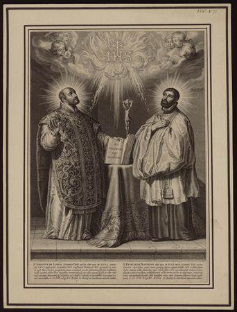 Saint Ignace de Loyola et saint François-Xavier