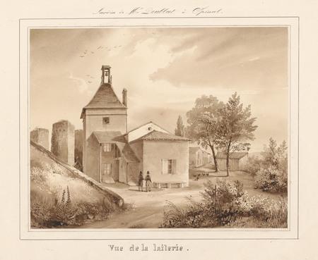 Le château d'Epinal : Vue de la laiterie