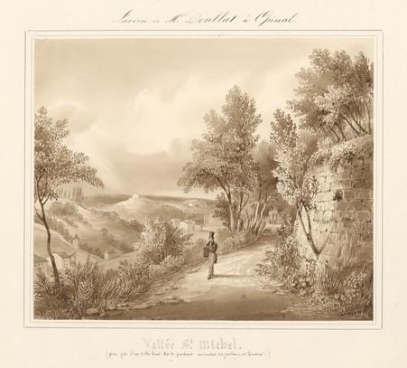 Le château d'Epinal : Vallée Saint-Michel (prise près d'une vieille cour s…