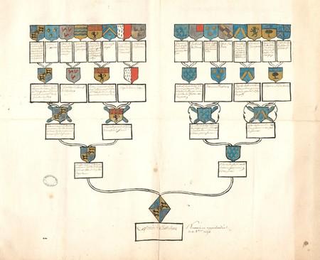 Arbre généalogique de Césarie de CASTELNAU
