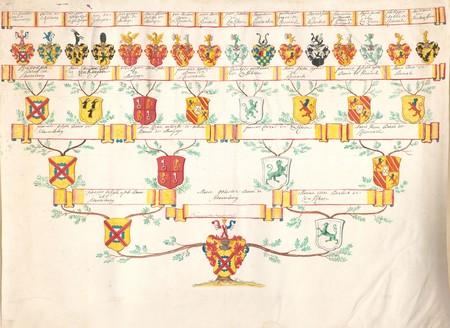 Arbre généalogique de Marie Gabrielle de SCHAUENBOURG