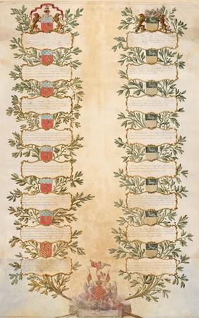 Arbre de lignes de Gabrielle Antoinette CREVECOEUR