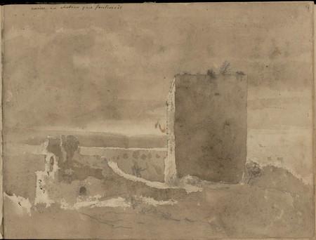 Ruine du château près de Fontenoy