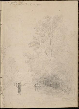 La Tranchée de la Vierge, 6 juillet 1851