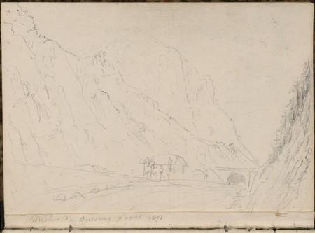 Tunnel de Bussang, 9 août 1851