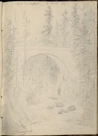 Pont de Vologne, 12 août 1851