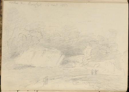 Roches de Bouffrot, 16 août 1852