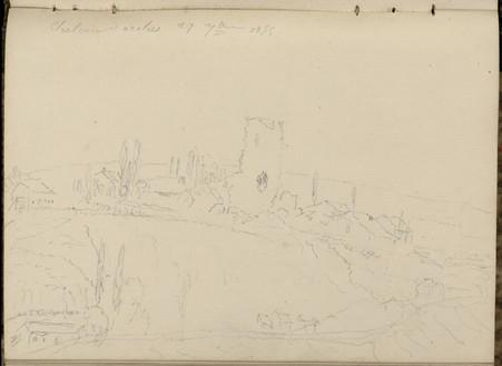 Château d'Arches, 27 septembre 1855