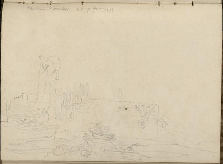 Château d'Arches, 26 septembre 1855