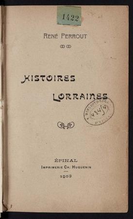 Histoires lorraines