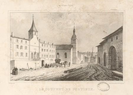 Le couvent de Portieux