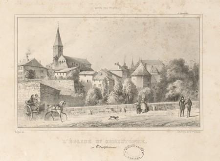 L'église St Christophe (à Neufchâteau)