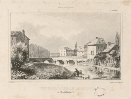 Un pont sur le Mouzon (à Neufchâteau)