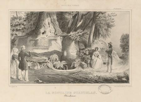 La fontaine Stanislas (Plombières)