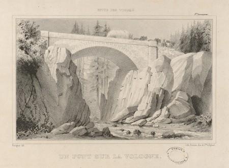 Un pont sur la Vologne