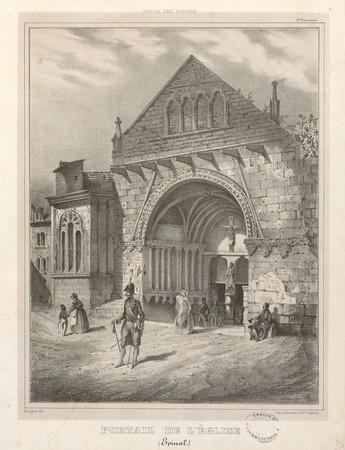 Portail de l'église (Épinal)