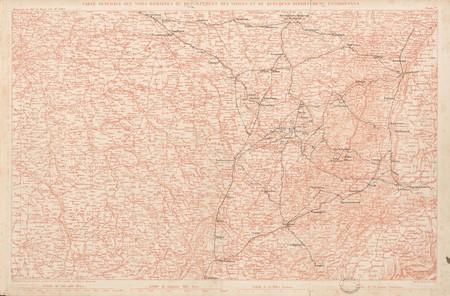 Carte générale des voies romaines du département des Vosges et quelques dé…