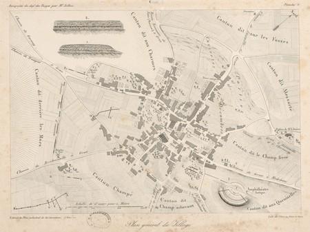 Gran[d]. Plan général du village