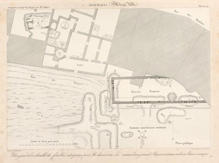 Bleurville. Plan général et détaillé des fouilles entreprises pour la déco…