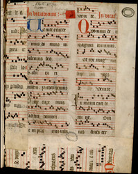 Psautier franciscain, antiennes de vêpres et de laudes, hymnes
