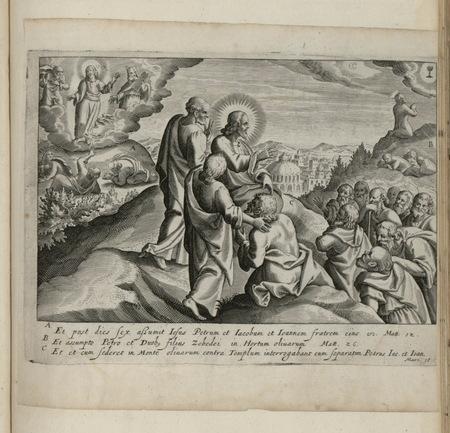 Transfiguration et choix des apôtres