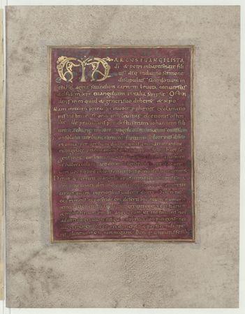 Evangelium secundum Marcum