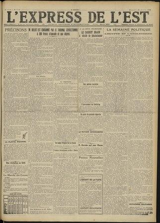 L'Express de l'Est : journal quotidien d'informations