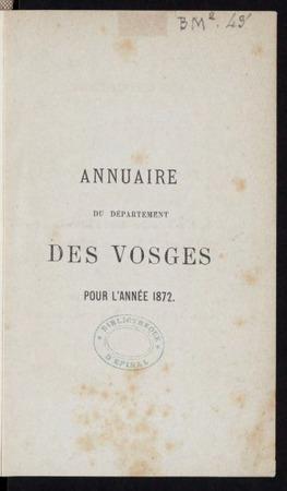 Annuaire administratif, statistique, judiciaire, commercial et agricole du…