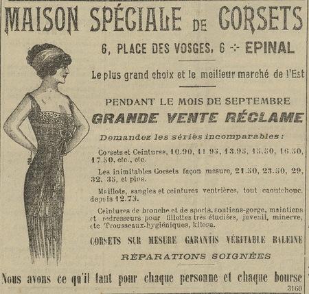 Maison spéciale de corsets