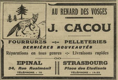 Au renard des Vosges