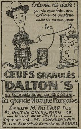 Oeufs Dalton's