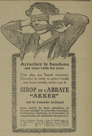 Sirop de l'Abbaye Akker