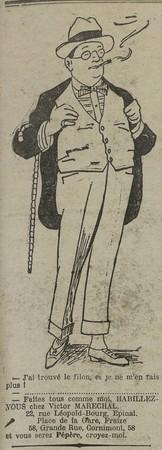 Vêtements Victor Maréchal