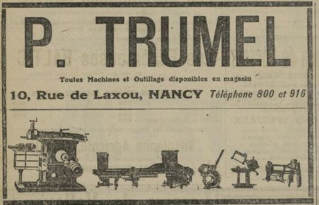 Machines et Outillages Trumel