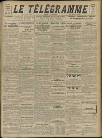Le Télégramme des Vosges