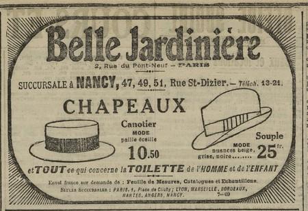 Chapeaux Belle Jardinière