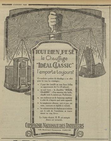 Chauffage Idéal Classic