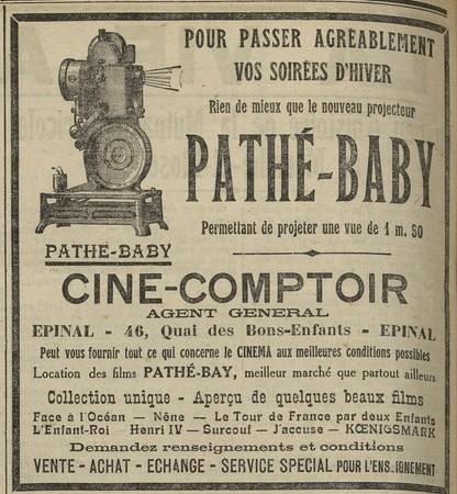 Projecteur Pathé-Baby