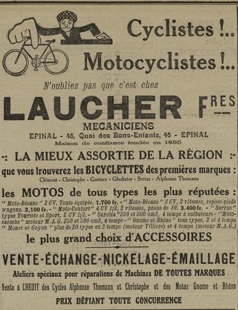 Cycles et Motos Laucher