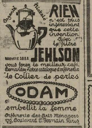 Cafetière Jehlson