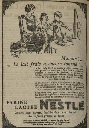 Farine Nestlé