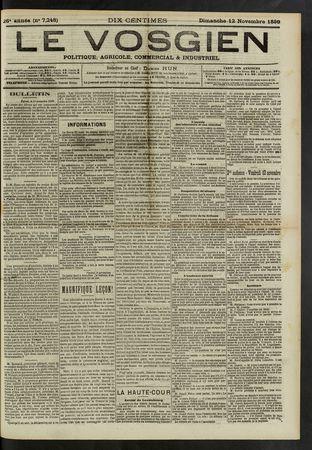 Le Vosgien : journal politique, agricole, commercial et industriel