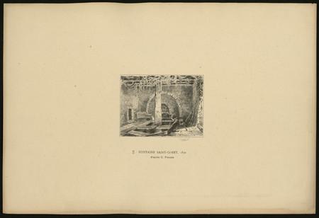 Fontaine Saint-Goery, 1830 d'après C. Pensée