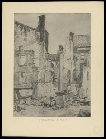Rue du Boudiou - angle des rues Brûlée et Rualménil