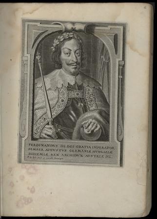 Ferdinandus III dei gratia Imperator semper Augustus Germaniae Hungariae B…