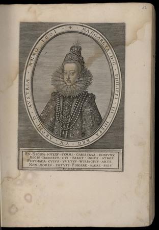 Margareta D. G. Philippi III Hispa. Reg. VX. Archi. D. Austriae. Anno 1601